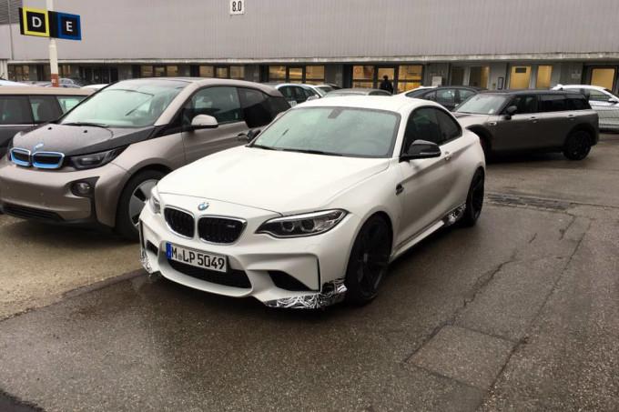 BMW M2 M Performance - Foto spia 30-11-2015