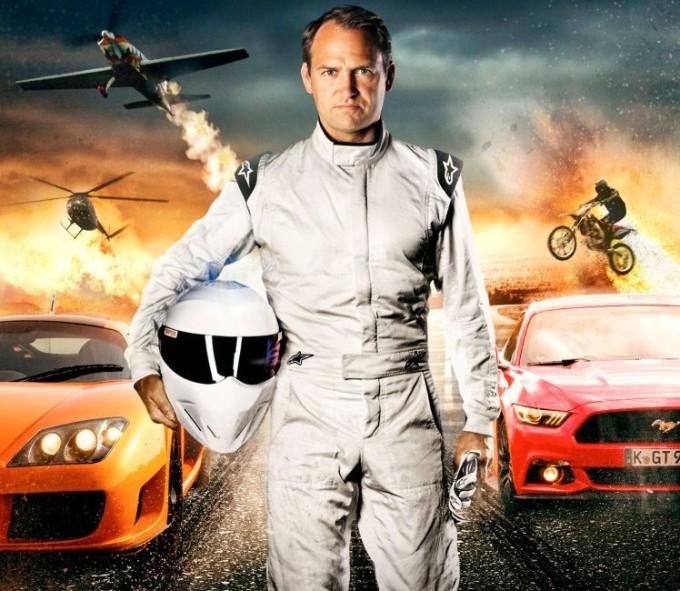 "Ford Mustang e The Stig protagonisti nel film ""Ben Collins: Stunt Driver"""