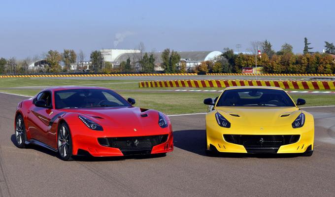 Ferrari F12tdf: prima foto ufficiale di un esemplare rosso [VIDEO]