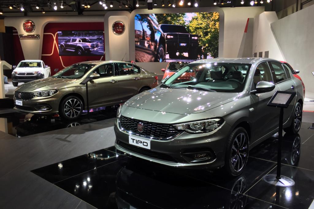 Fiat Tipo - Salone di Dubai 2015