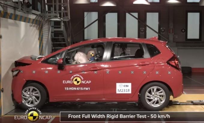 Honda HR-V e Jazz: cinque stelle Euro NCAP per entrambe [VIDEO]