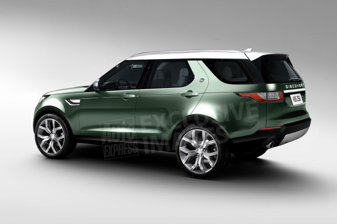 Land Rover Discovery 2017 - rendering (2)