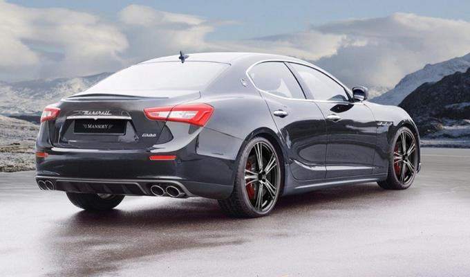 Maserati Ghibli by Mansory