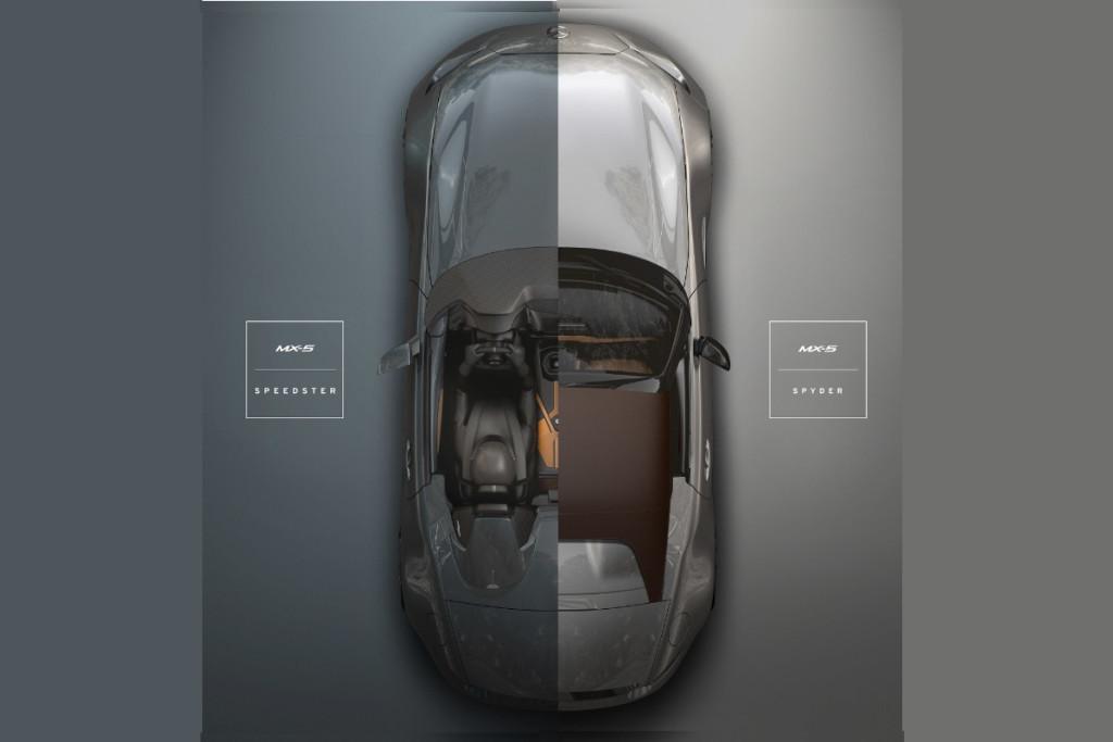 Mazda MX-5 Spyder e MX-5 Speedster, coppia di concept speciali al SEMA 2015