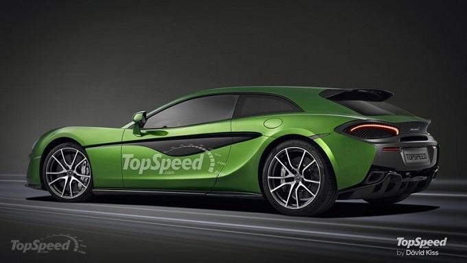 McLaren Sports Series Shooting Brake: la nuova sportiva di Woking arriverà nel 2016?