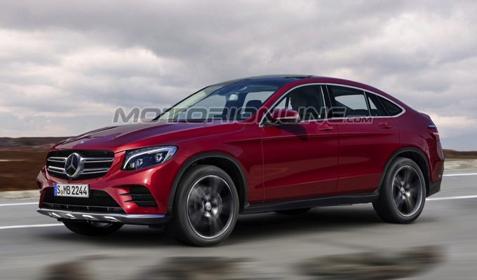 Mercedes GLC Coupé: un'idea del possibile design [RENDERING]