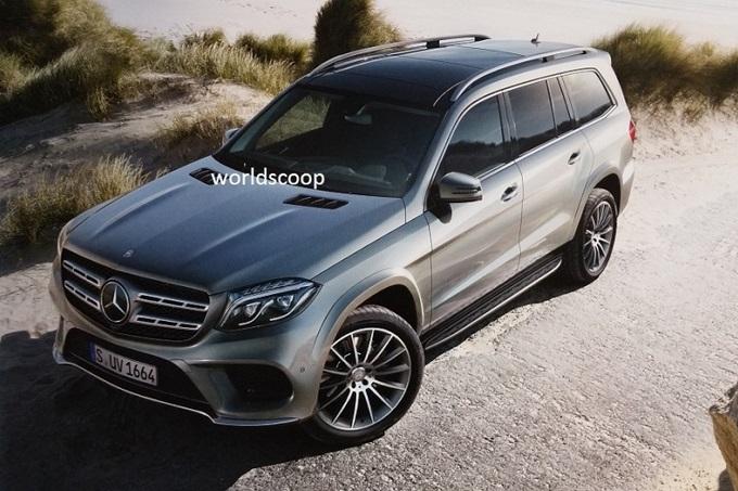 Nuova Mercedes GLS, una nuova FOTO approda sul web