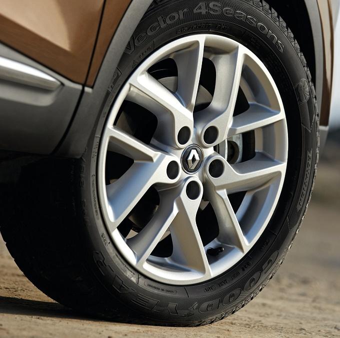 Renault Kadjar sceglie gli pneumatici Goodyear Vector 4Seasons