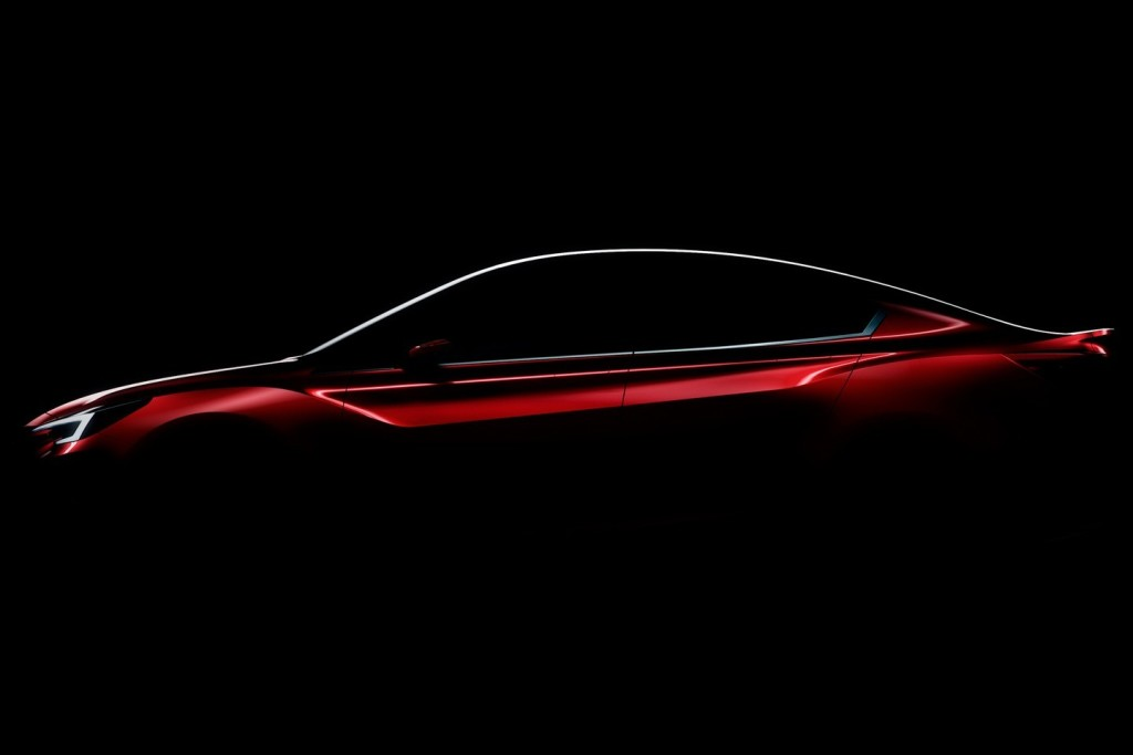 Subaru Impreza Sedan Concept, un assaggio del look prima del debutto di Los Angeles