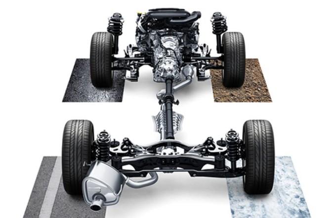 Subaru Symmetrical AWD, un video ci mostra come funziona