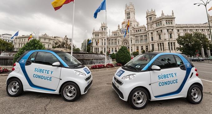 Car2go: a Madrid il primo progetto pilota al mondo di car sharing completamente elettrico [FOTO]