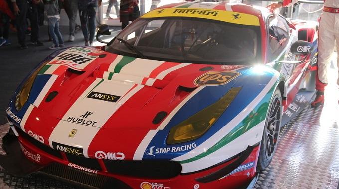 La Ferrari 488 GT3 e la 488 GTE sono state presentate al Mugello