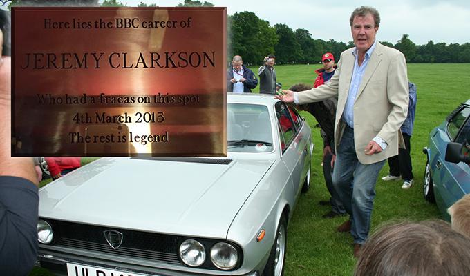 Top Gear UK: Jeremy Clarkson e il suo pugno si meritano una targa celebrativa