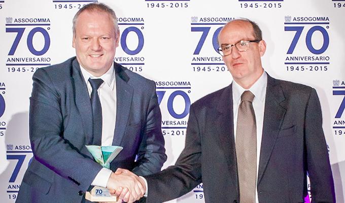 Michelin CrossClimate premiati ai 70 anni di Assogomma