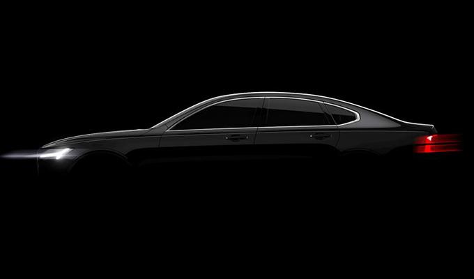 Volvo S90, confermato il debutto al Salone di Detroit 2016