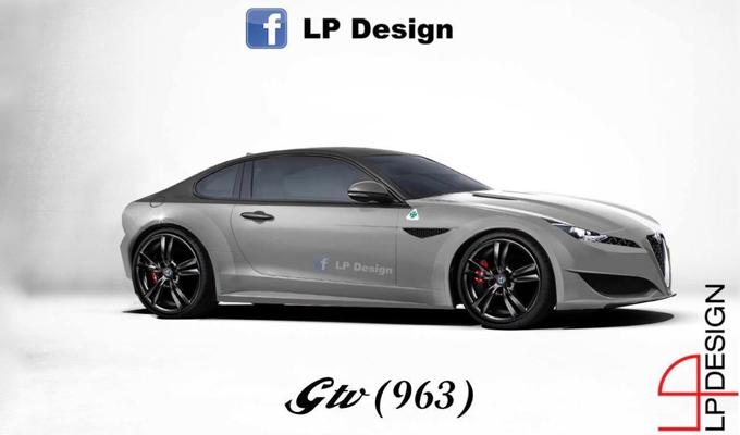 Alfa Romeo GTV: la nuova coupé del Biscione potrebbe avere queste forme? [RENDERING]