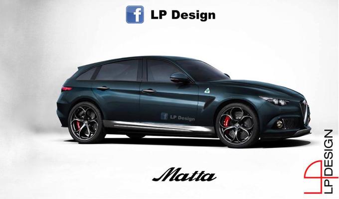 Alfa Romeo SUV: una nuova ipotesi stilistica delle possibili forme [RENDERING]