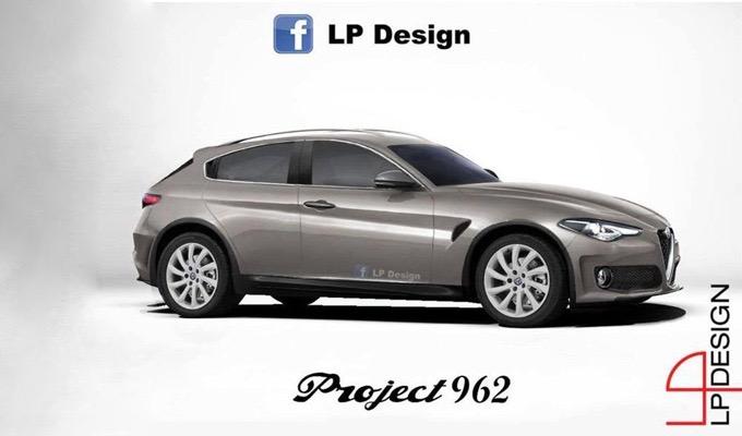 Alfa Romeo SUV compatto: potrebbe essere così un futuro crossover di segmento C? [RENDERING]