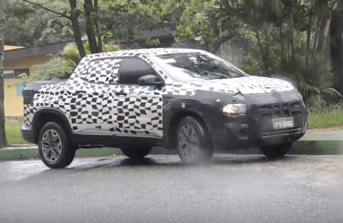 Fiat Toro, immortalato per strada il nuovo pick-up [VIDEO SPIA]