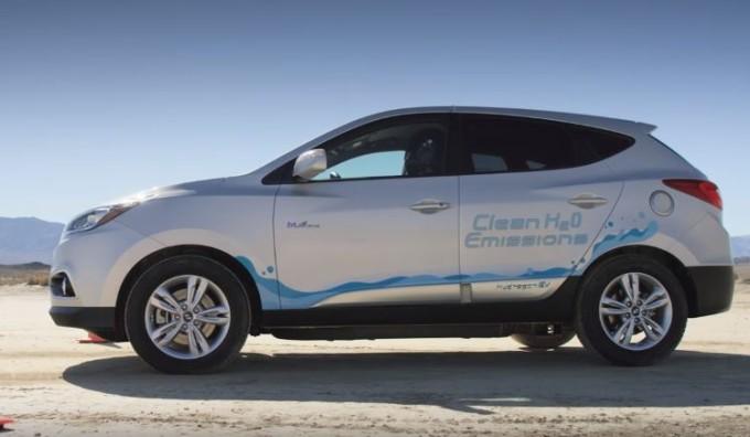Hyundai Tucson FCEV, velocità da record per un crossover a idrogeno: 152,2 km/h [VIDEO]