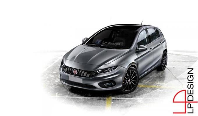 Nuova Fiat Punto: la quarta generazione dovrebbe debuttare nel 2017 [RENDERING]