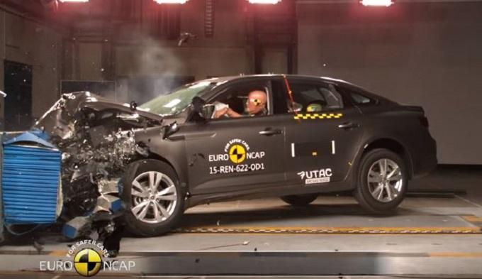 Renault Talisman e nuova Mégane conquistano le 5 stelle Euro NCAP [VIDEO]