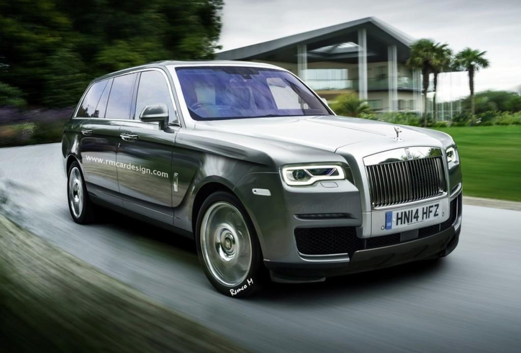 Rolls-Royce SUV, immaginando il look del lusso britannico dalla grande mole [RENDERING]