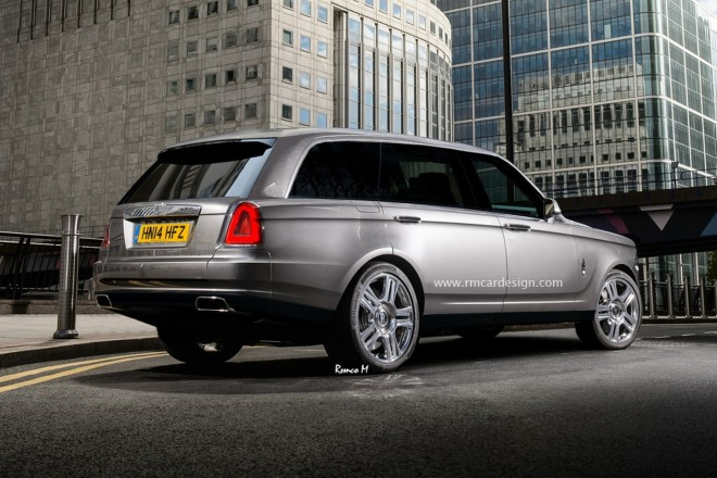 Rolls-Royce SUV by RM Design (2)