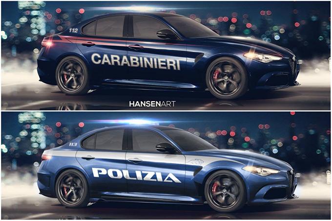 Alfa Romeo Giulia, sempre più vicino il ritorno nella Polizia e nei Carabinieri
