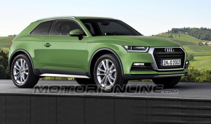 Audi Q2 e Q4, forse c'è l'accordo con FCA per l'utilizzo dei nomi