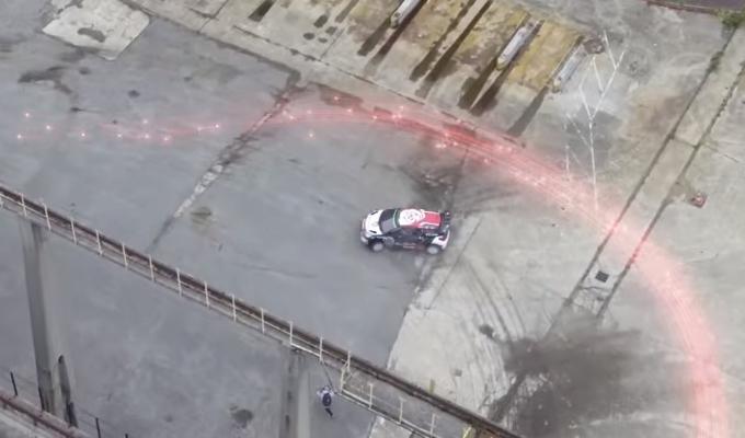 Sebastien Loeb sfida la Fibra ottica in uno spot