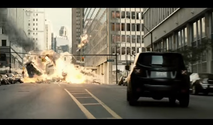 "Jeep Renegade nel trailer ""Batman v Superman: Dawn of Justice"""