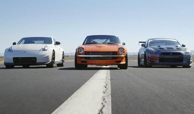 Drag race nella famiglia Nissan