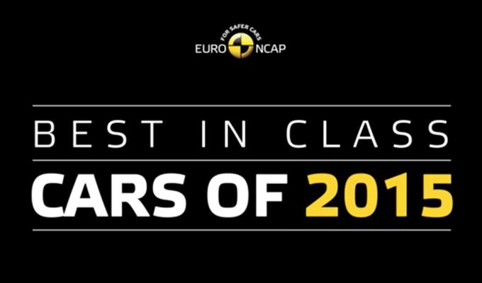 Euro NCAP: diffusa la classifica delle Best in class 2015 [VIDEO]
