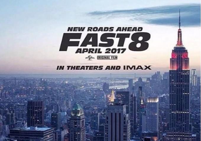 Fast & Furious 8, il primo poster del film è stato pubblicato da Vin Diesel su Instagram