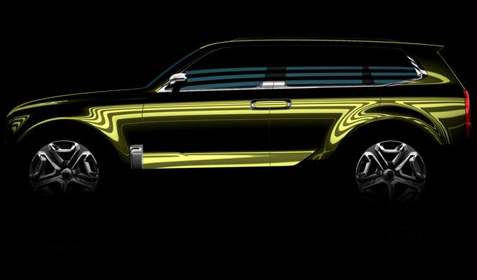 Kia SUV concept: attesa a Detroit una muscolosa novità