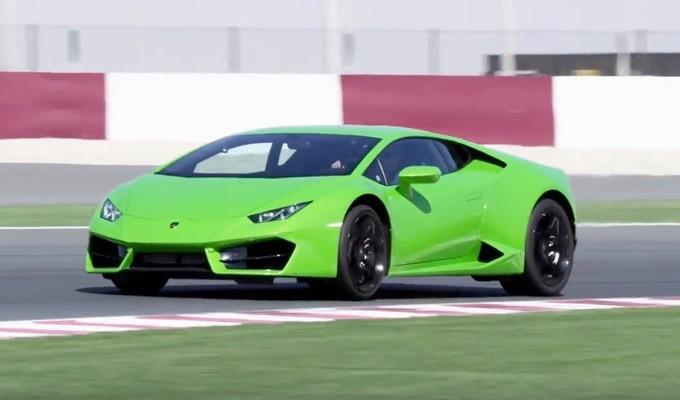 Lamborghini Huracán LP 580-2: il dinamismo della trazione posteriore in pista [VIDEO]