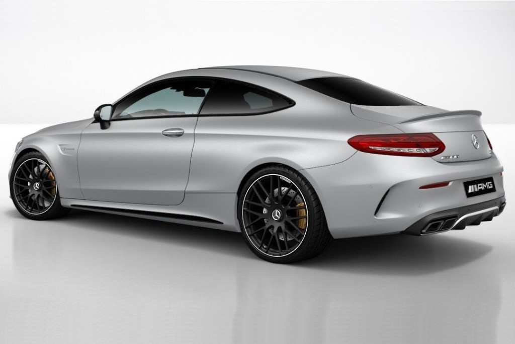 Mercedes C63 AMG Coupe Night Package