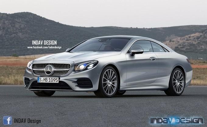 Mercedes-Benz Classe E Coupé 2017, il lusso dal tocco sportivo [RENDERING]
