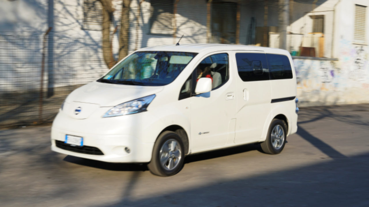 Nissan E Nv200 Evalia L Elettrico Anche Per Sette Prova Su Strada