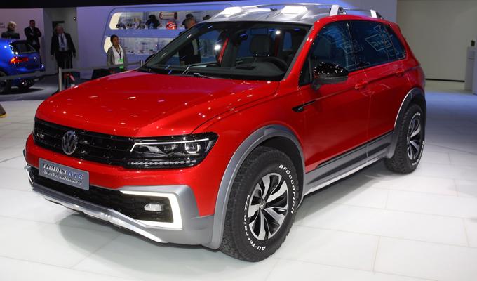 Volkswagen Tiguan GTE Active Concept, offroad ma ibrida