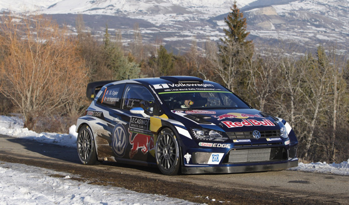 volkswagen polo wrc e s bastien ogier svettano ancora al rally di monte carlo 2016 foto e video. Black Bedroom Furniture Sets. Home Design Ideas