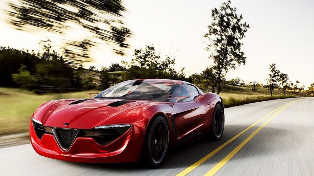 Alfa Romeo 6C, avrà 400 CV sotto il cofano [RENDERING]