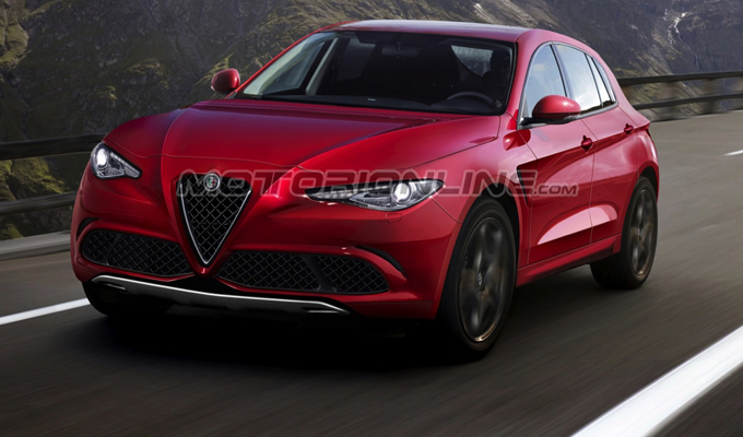 Alfa Romeo SUV: potrebbe avere questo aspetto? [RENDERING]