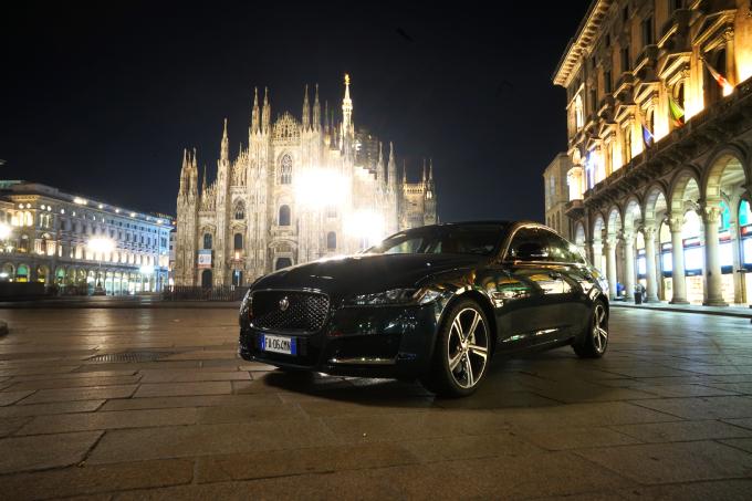 Jaguar XF, una dieta a base di alluminio per la seconda generazione [PROVA SU STRADA]