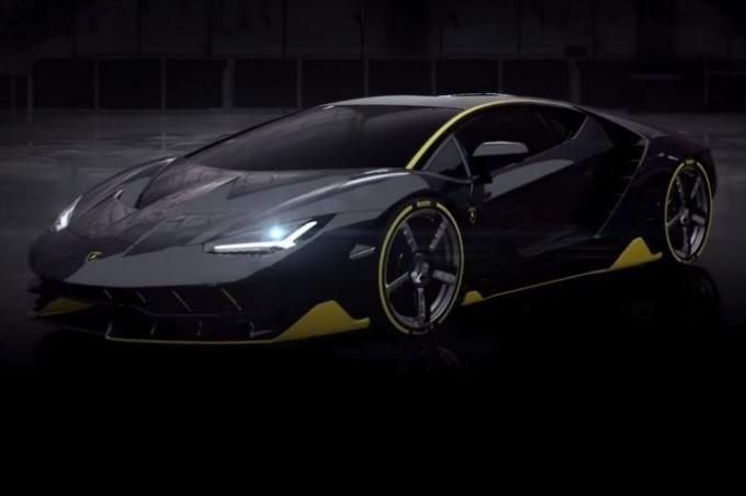 Lamborghini Centenario parzialmente svelata in VIDEO in attesa dell'anteprima di Ginevra 2016