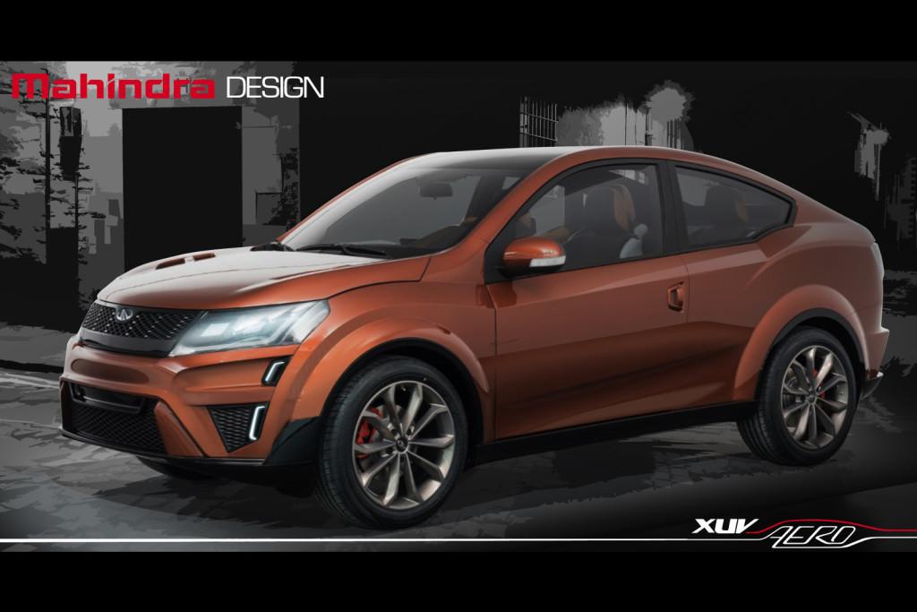 Mahindra XUV Aero Concept, svelato il crossover con tratti da coupé