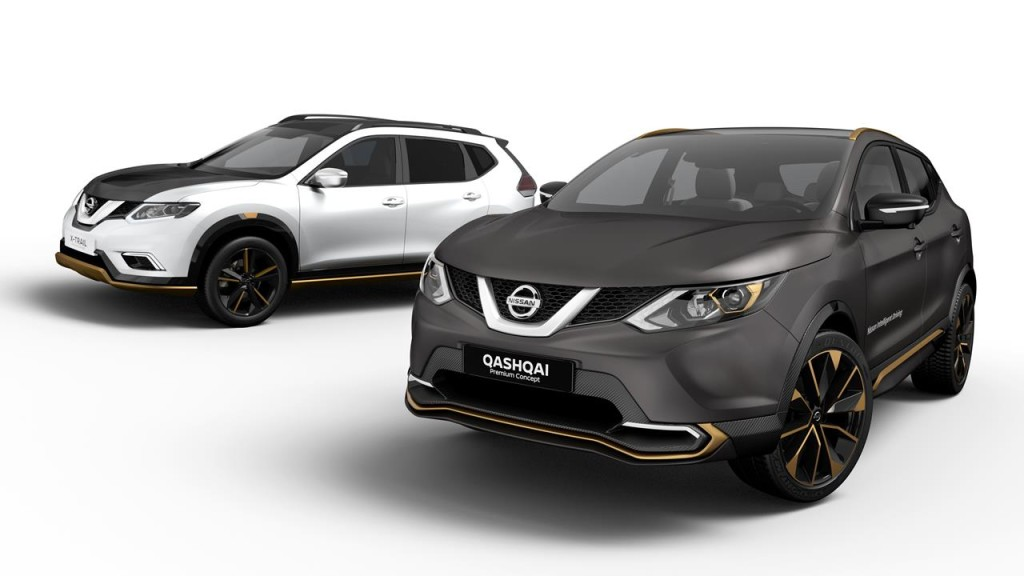 nissan qashqai e x trail a tutta esclusivit con le. Black Bedroom Furniture Sets. Home Design Ideas