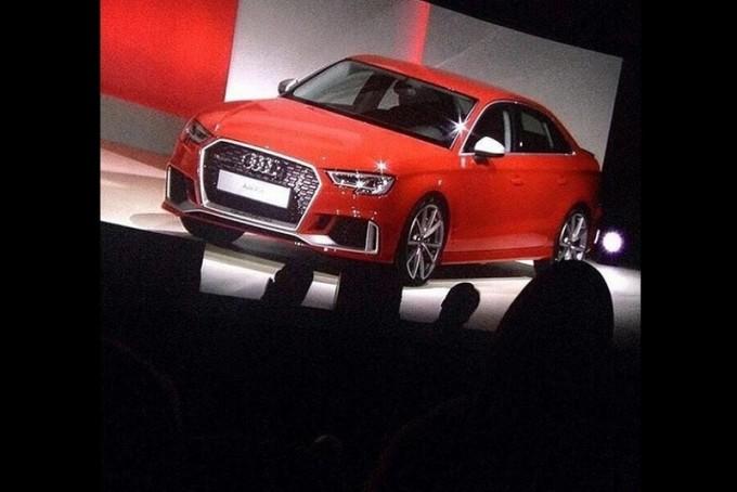 Audi RS3 Sedan: sul web un video ce la svela in anteprima [VIDEO]