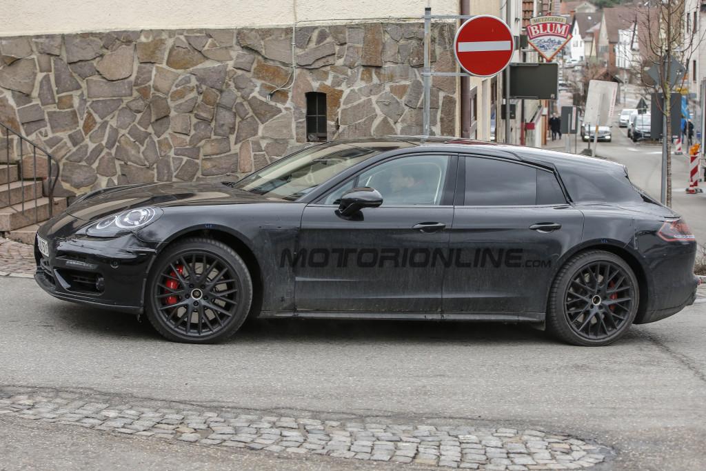 Porsche Panamera Shooting Brake - Foto spia 05-02-2016